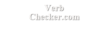 Verb Checker