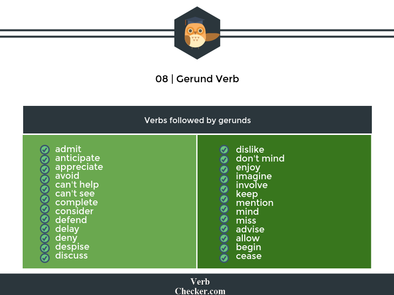 gerund verb example