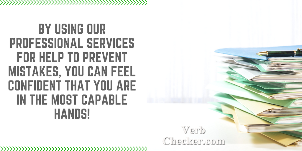 irregular verb forms professional service help