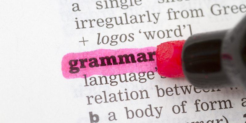grammar checker for sentence
